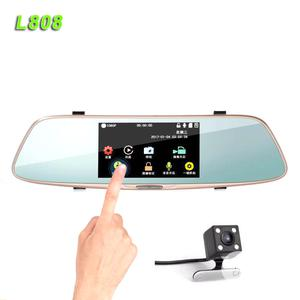 Touch Screen Rear View Mirror Car Recorder   Vehicle Parts & Accessories for sale in Lagos State, Ikeja