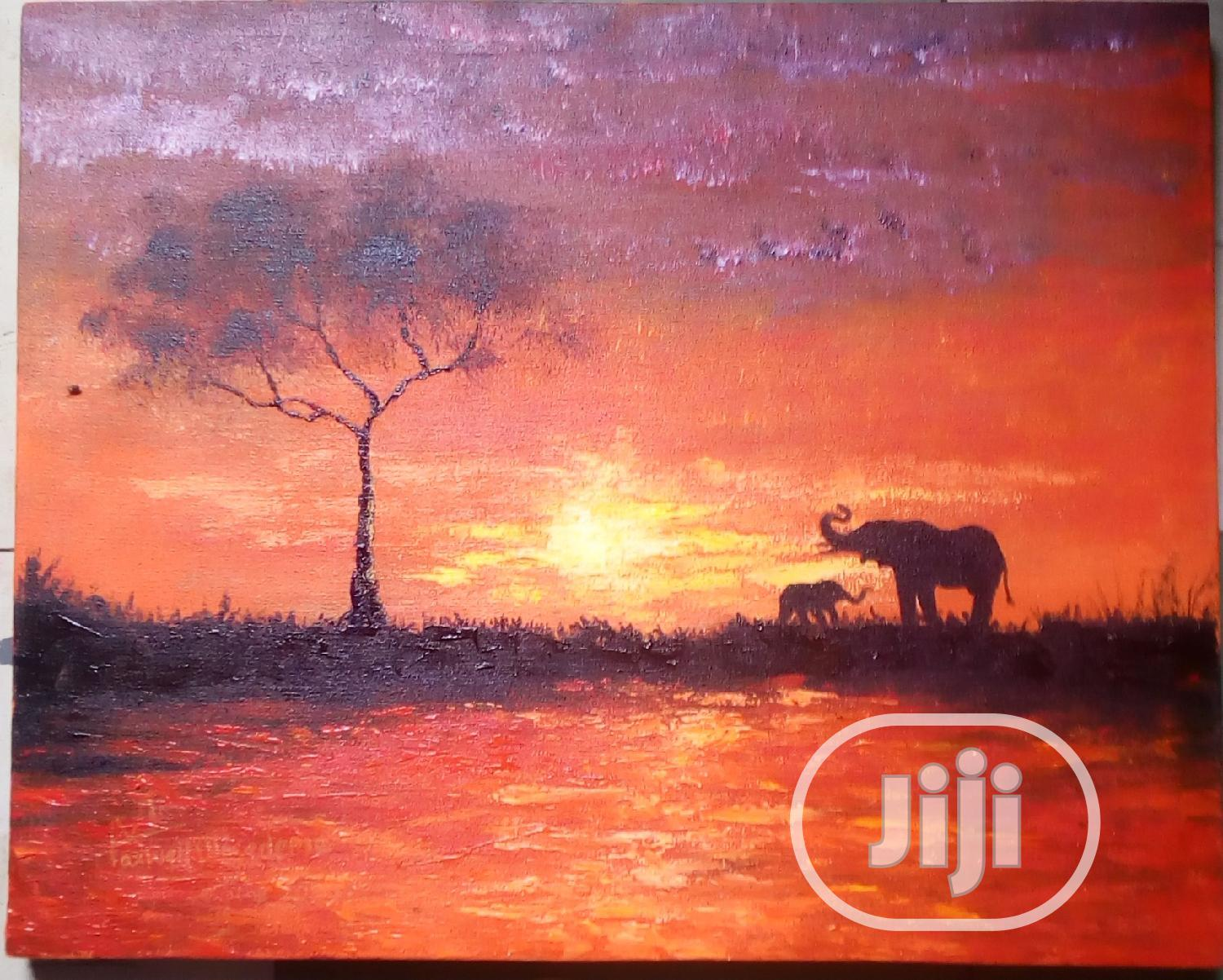 Archive: Land Scape Wall Painting