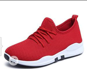 Promo Price Red Sneakers Breathable Comfy   Shoes for sale in Lagos State, Agege