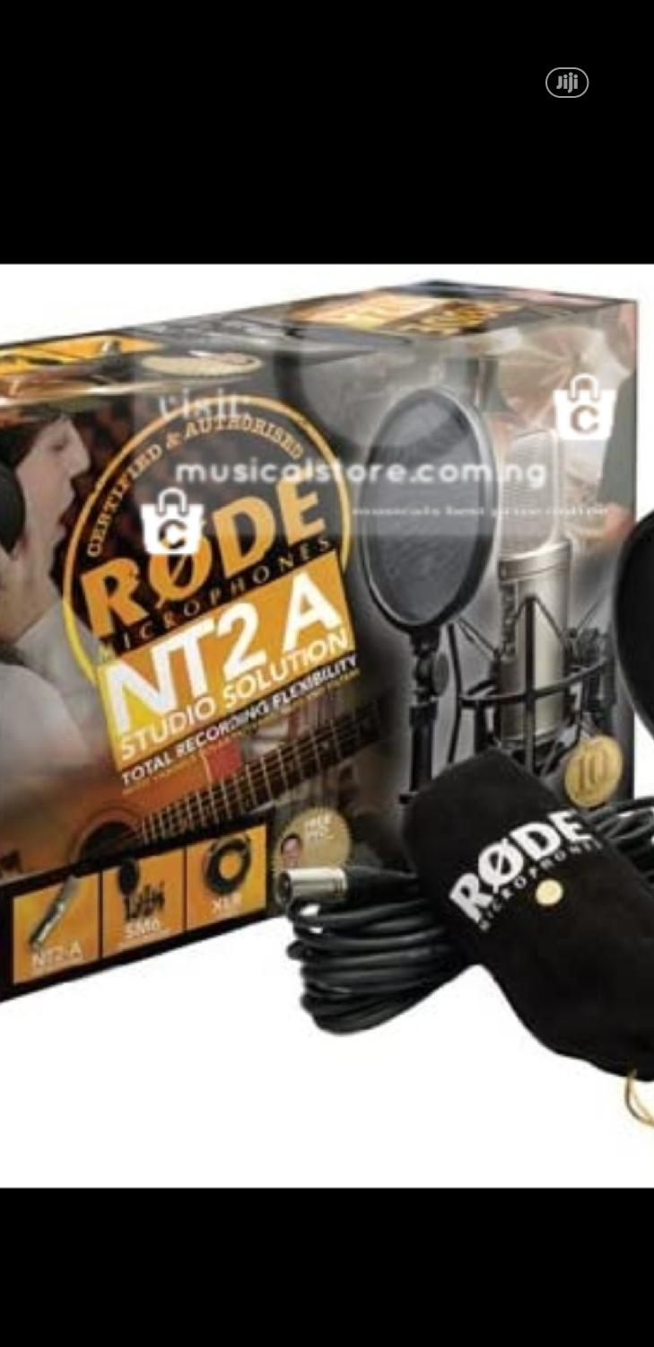 Rode NT2A Condenser Microphone   Audio & Music Equipment for sale in Ojo, Lagos State, Nigeria