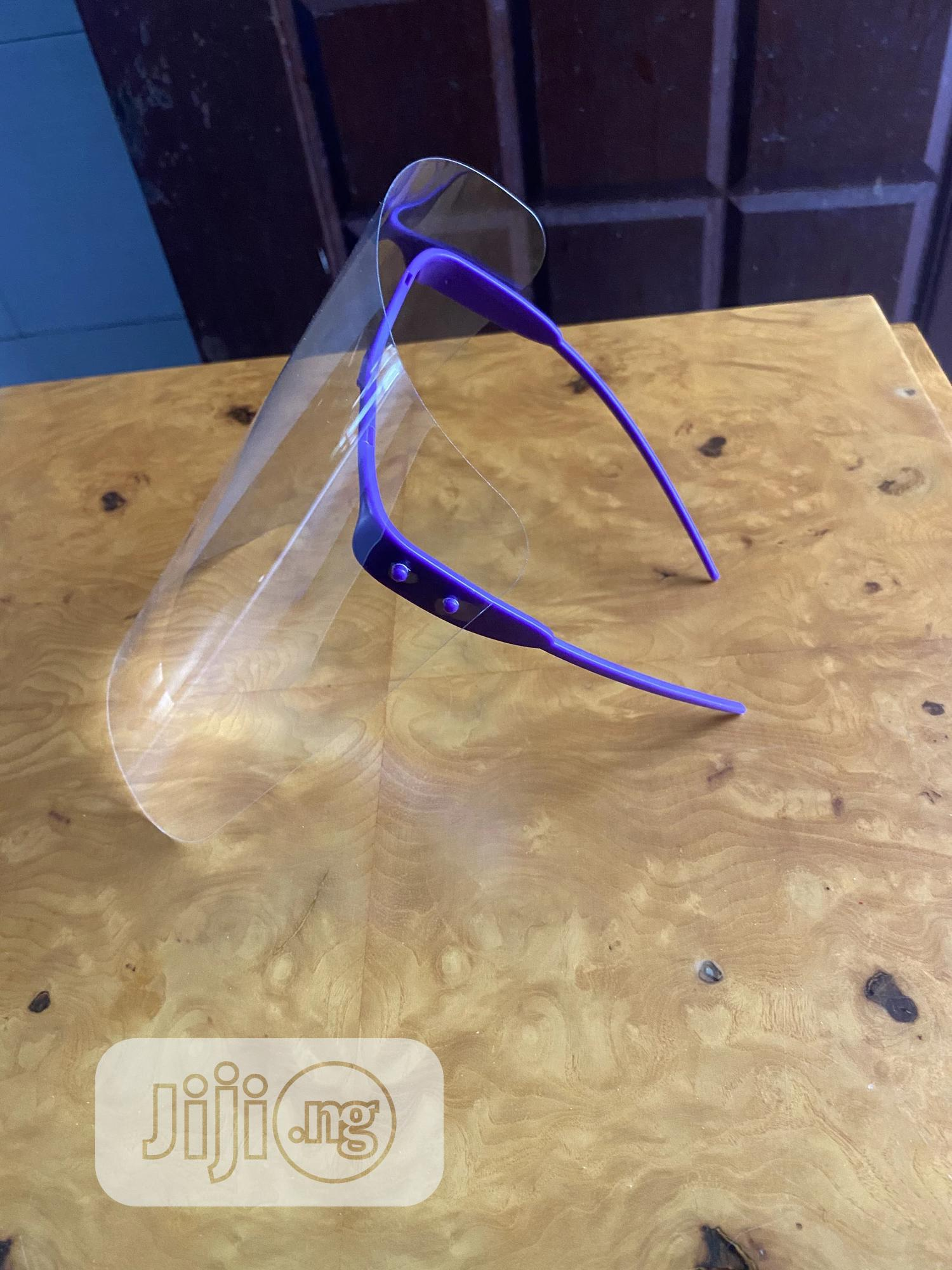 Faceshield In Different Colours | Safety Equipment for sale in Maryland, Lagos State, Nigeria