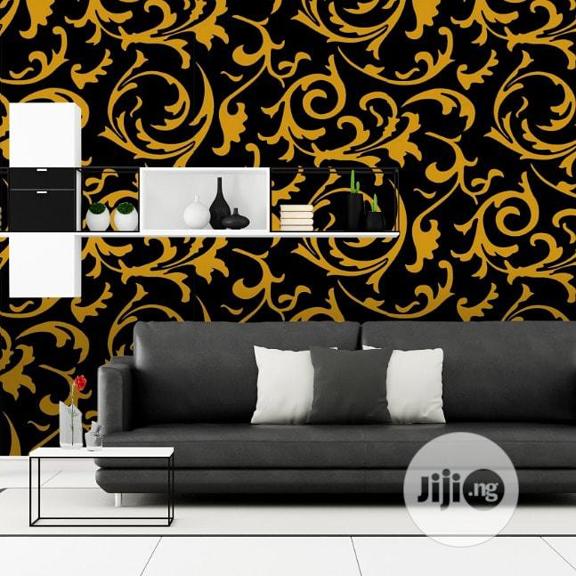 Archive: Black and Gold Luxury Wallpaper