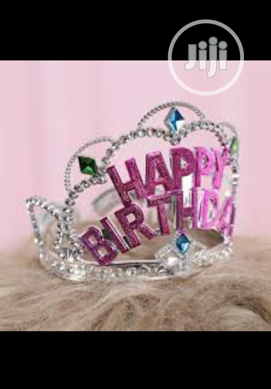 Archive: Birthday Girl Tiara Crown