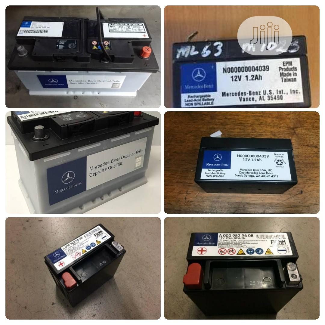 Mercedes-Benz G63 Batteries | Vehicle Parts & Accessories for sale in Surulere, Lagos State, Nigeria