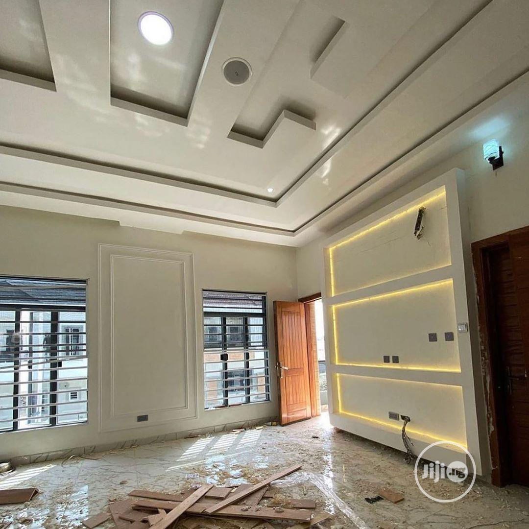 The Best Of Wall Screeding, Pop Ceiling, TV Stand.