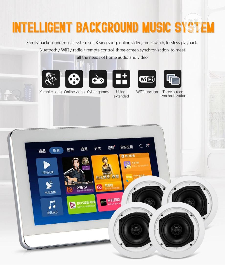 Inwall Music System Bluetooth Amplifier Wth Ceiling Speakers In Ikeja Audio Music Equipment The Best Jiji Ng
