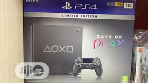 Sony Ps4 1tb Days of Play Steel Limited Edition | Video Game Consoles for sale in Lagos State, Ikeja