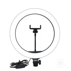 LED Selfie Ring Light Video Live Makeup With Phone Holder   Accessories for Mobile Phones & Tablets for sale in Lagos State, Alimosho