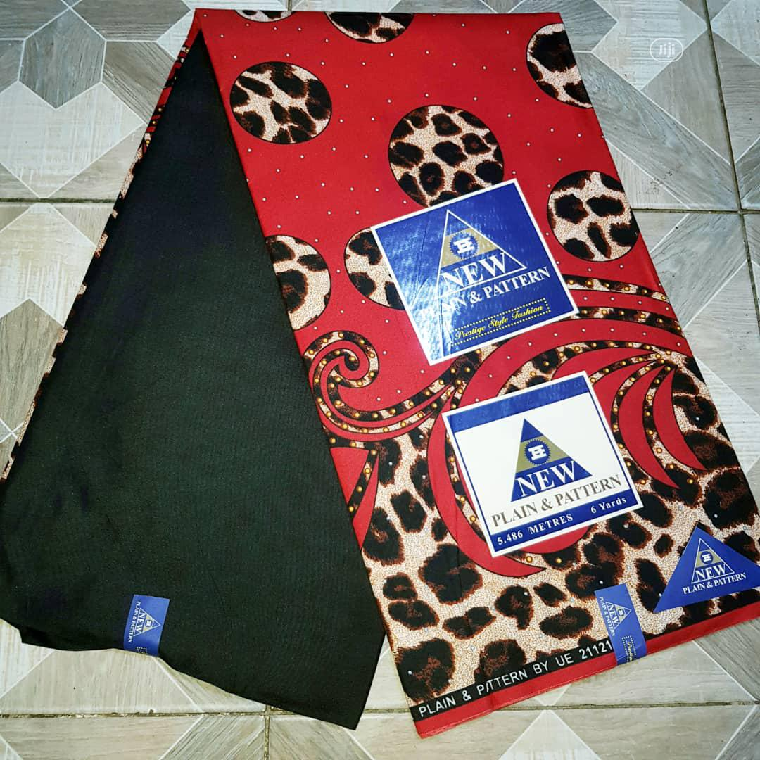 Archive: Ankara And Lace Combination