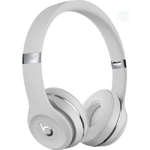 Beats By Dr. Dre Beats Solo3 Wireless Headphones Silver   Headphones for sale in Lagos State, Ikeja