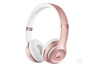 Beats Solo 3 Wireless Headphones Rose Gold | Headphones for sale in Lagos State, Ikeja