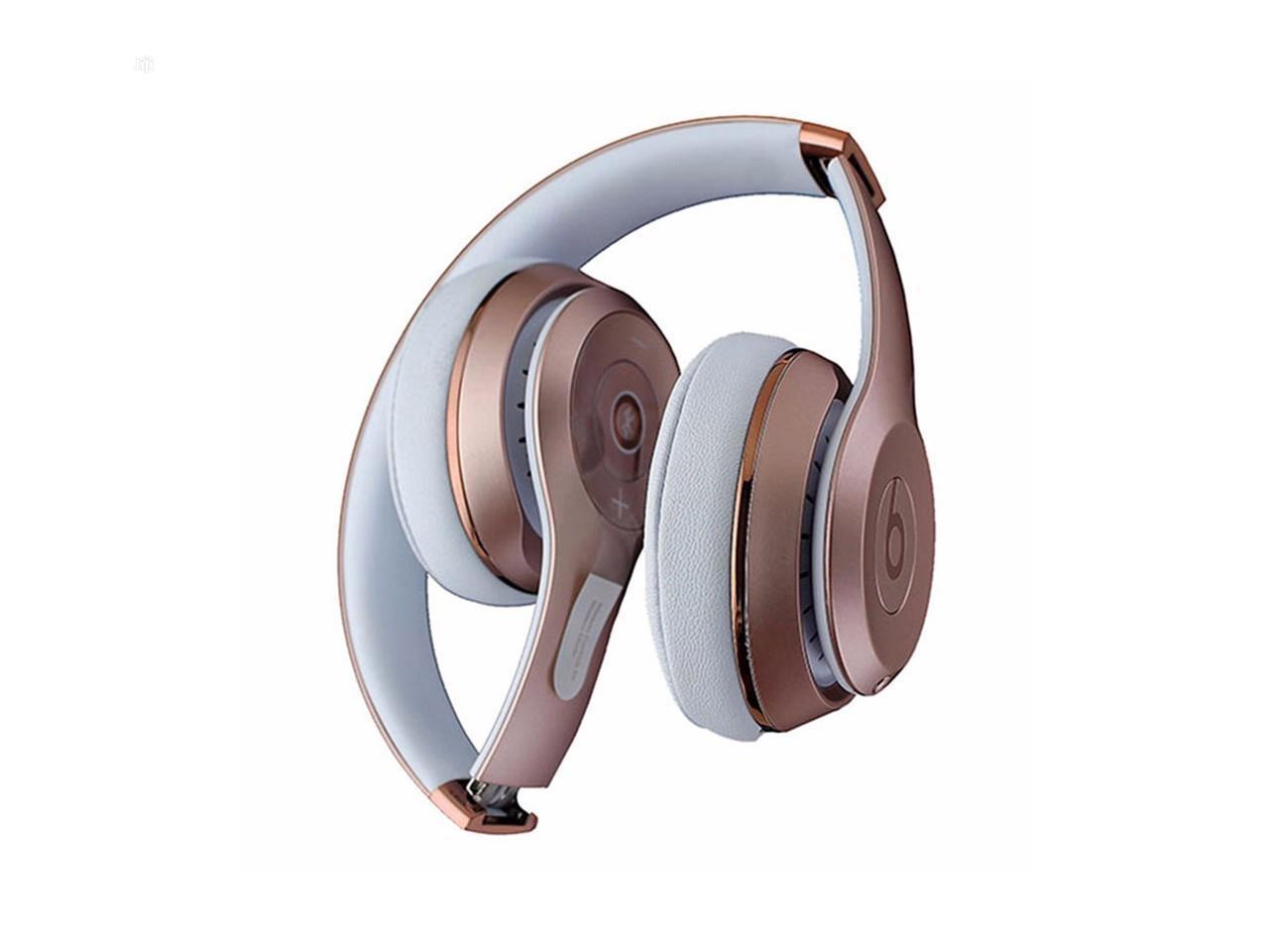 Archive: Beats Solo 3 Wireless Headphones Rose Gold