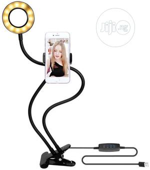 Selfie Ring Light With Phone Holder Stand | Accessories for Mobile Phones & Tablets for sale in Lagos State, Ikeja