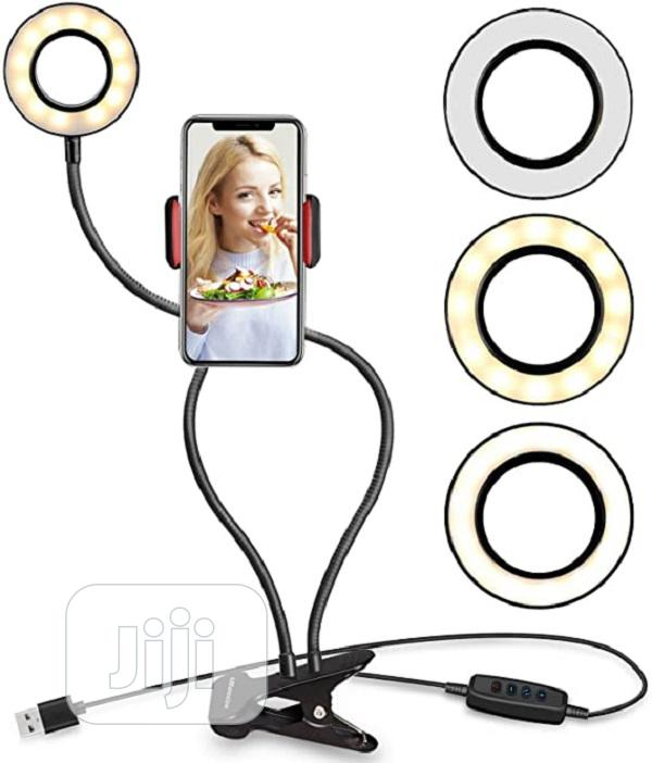Selfie Ring Light With Phone Holder Stand   Accessories for Mobile Phones & Tablets for sale in Ikeja, Lagos State, Nigeria