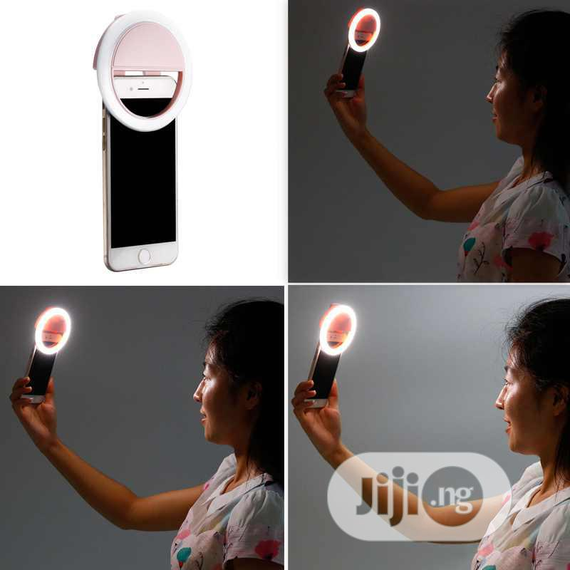 Selfie Mobile Phone Ring Light | Accessories for Mobile Phones & Tablets for sale in Ikeja, Lagos State, Nigeria