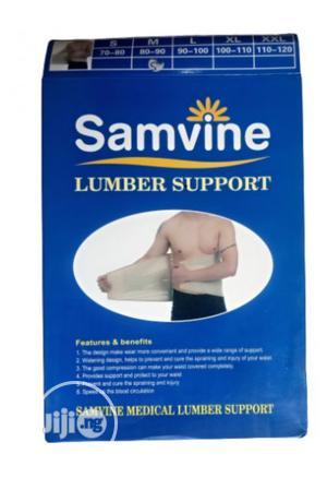 Waist Trimmer Samvine Lumbo Sacral Belt- Lumber Back Support | Tools & Accessories for sale in Lagos State, Surulere