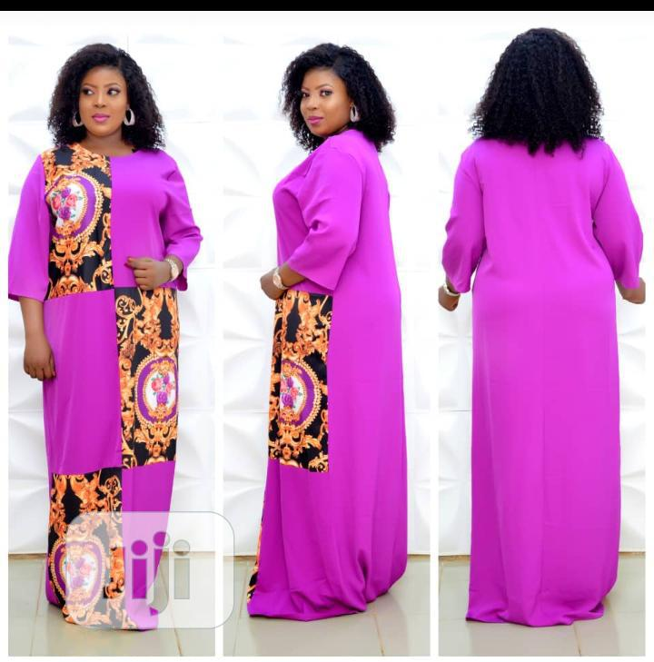 Beautiful Long Gowns for Mature Ladies