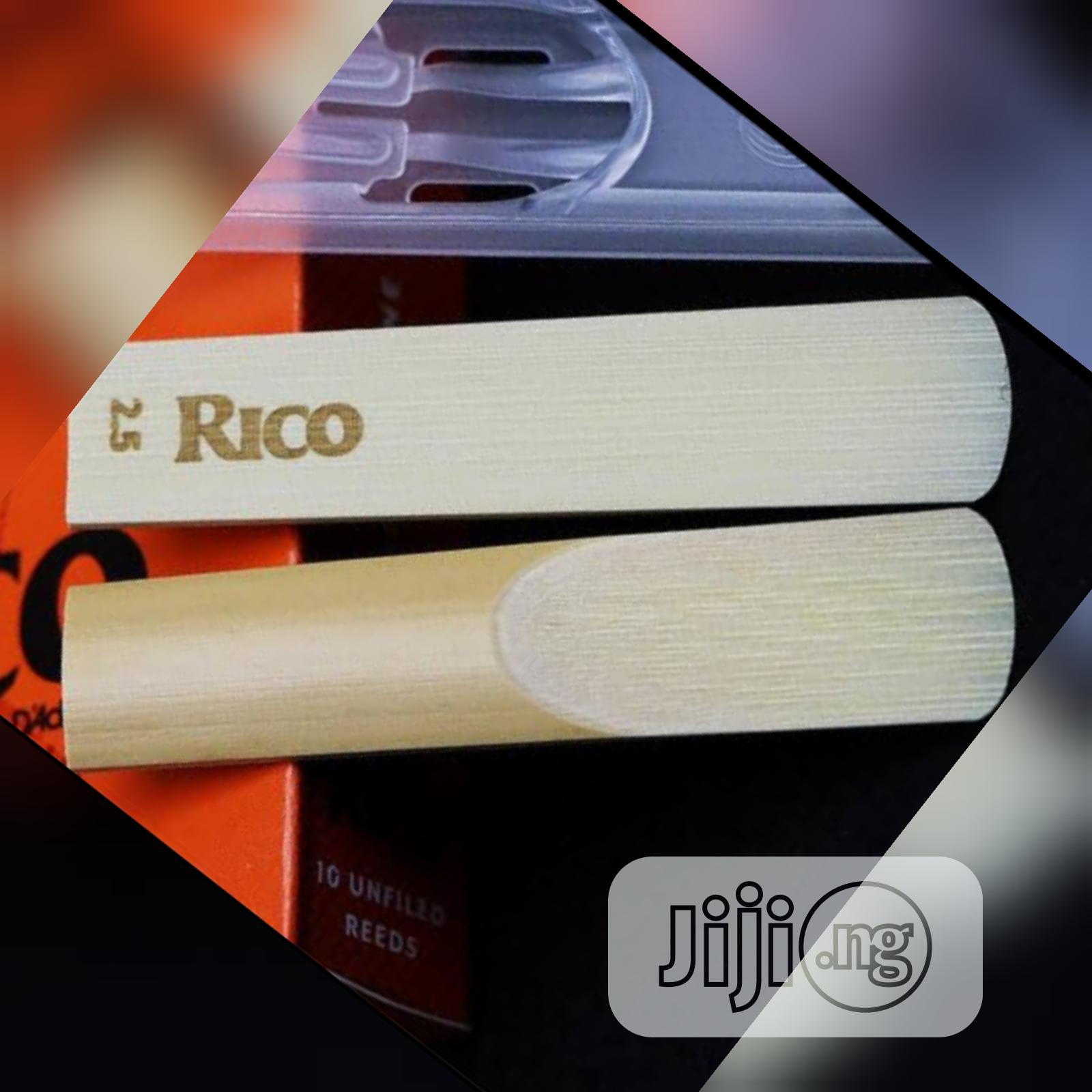 Rico 1 Unfiled Alto Saxophone Classic High-quality Reed | Musical Instruments & Gear for sale in Gbagada, Lagos State, Nigeria