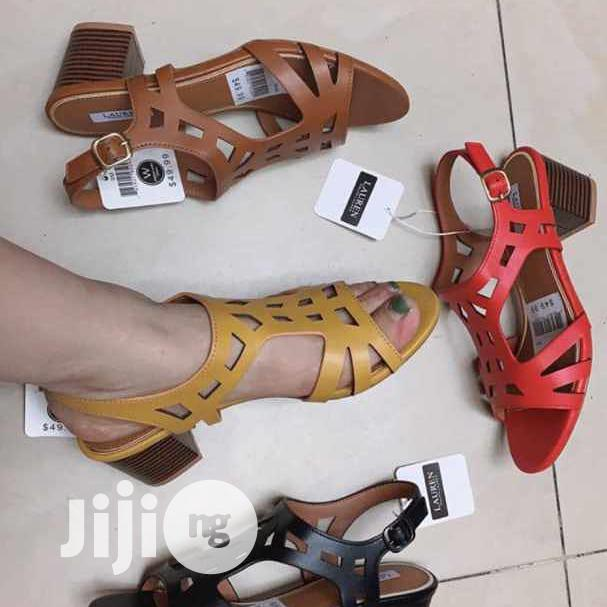 Low Heel Sandal For Ladies/Women Available In Sizes | Shoes for sale in Ikoyi, Lagos State, Nigeria