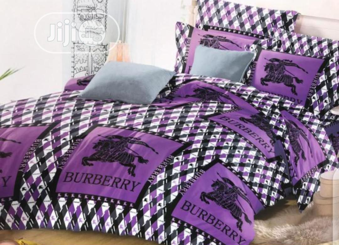 Purple Design Bedspread Set