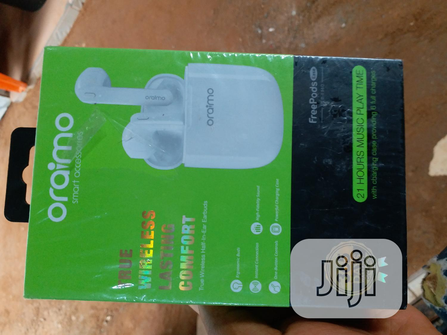 Oraimo Airpod | Accessories for Mobile Phones & Tablets for sale in Wuse, Abuja (FCT) State, Nigeria