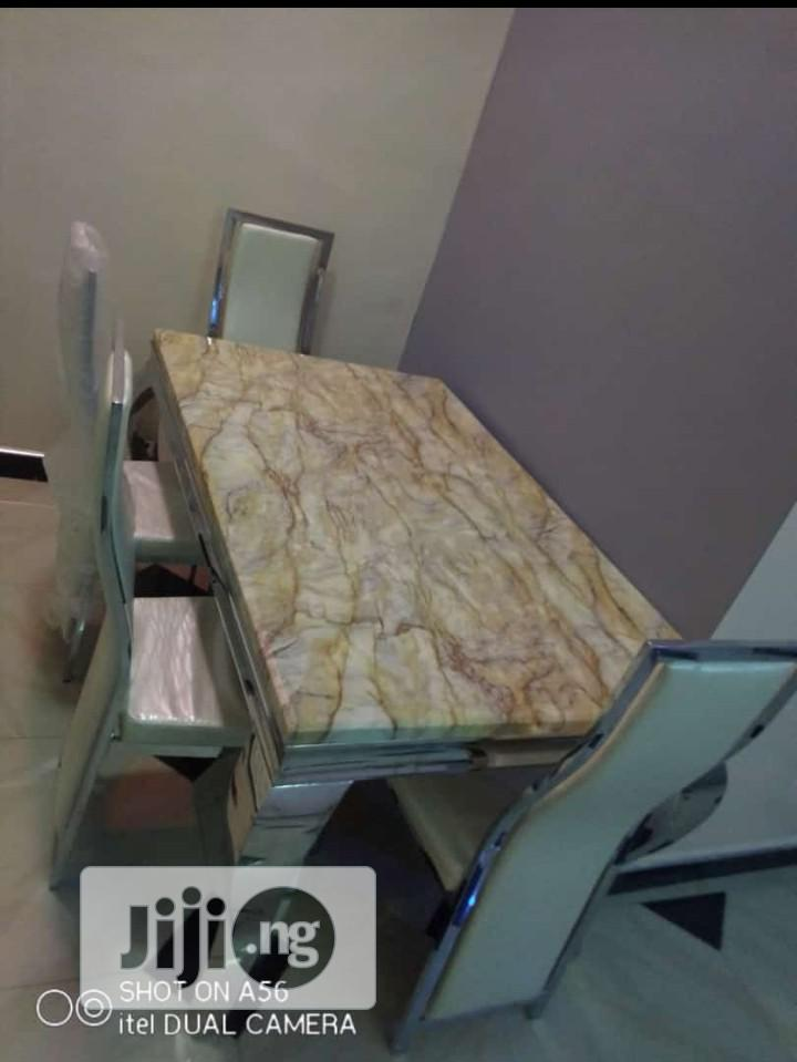 Pure Marble Dinning Table