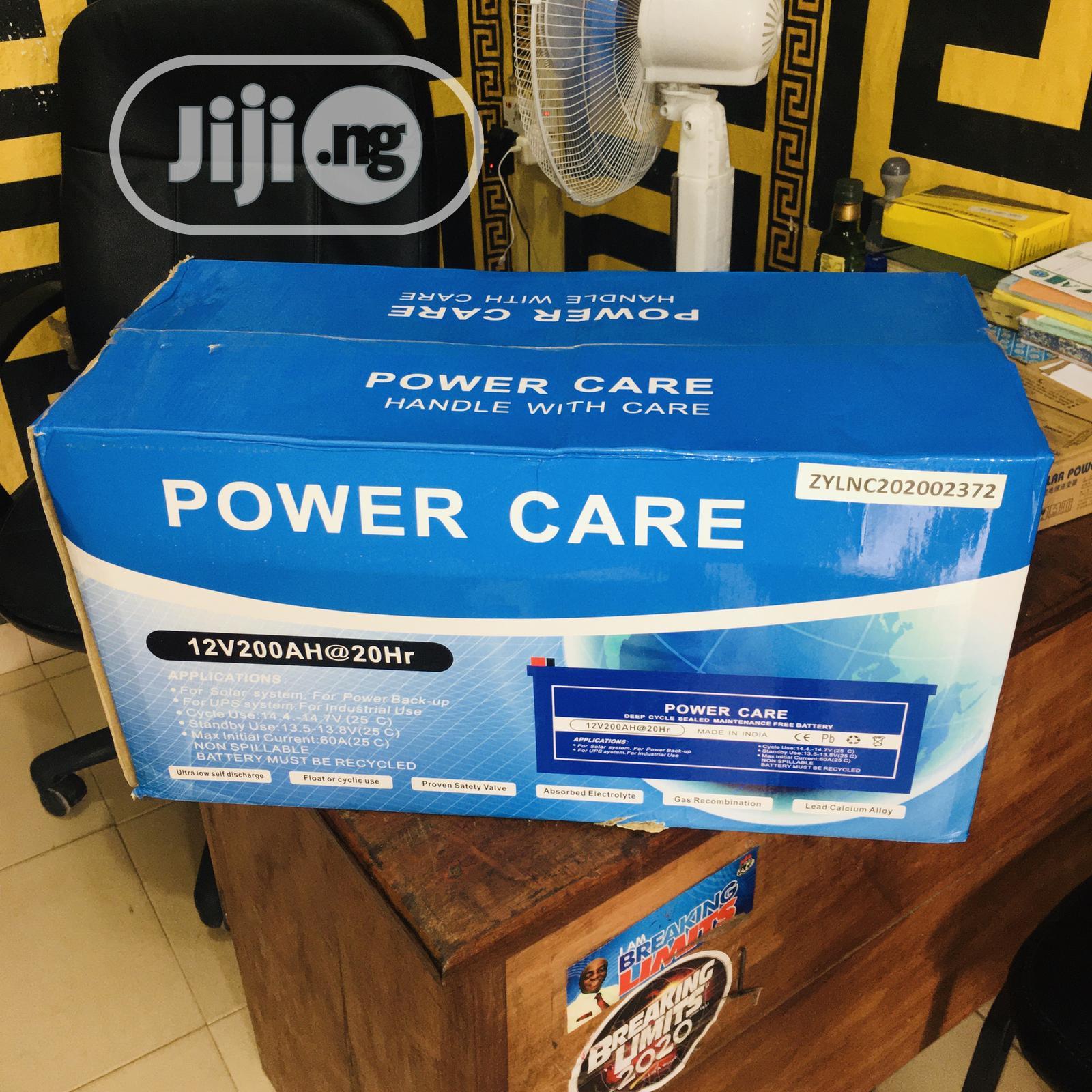 200ah 12v Power Care Deep Cycle Battery