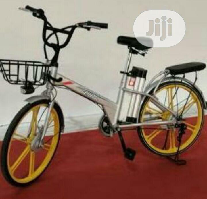 Archive: Electric Bicycle With Basket