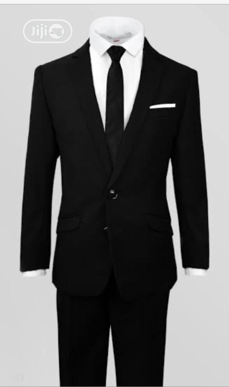 Archive: Boys Black Suit