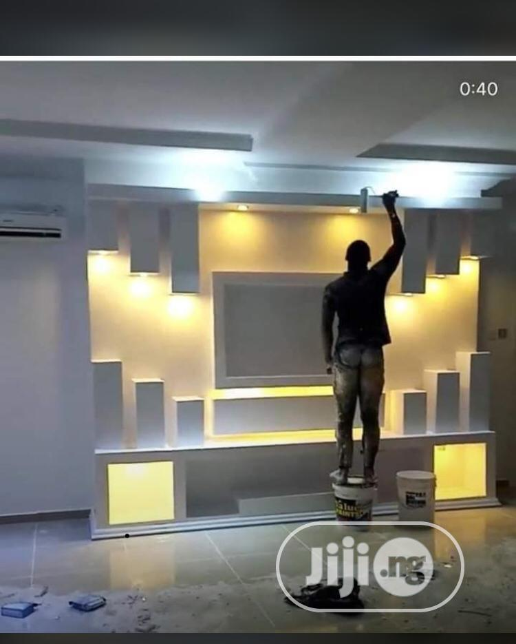 Doing Of Television Shelf Or Television Stand | Building & Trades Services for sale in Ajah, Lagos State, Nigeria