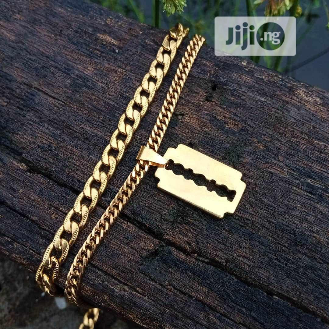Cuban Neck Chain   Jewelry for sale in Alimosho, Lagos State, Nigeria