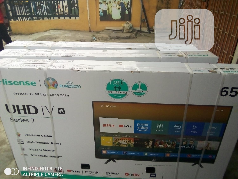 """Hisense LED 4k Smart Tv 65"""""""