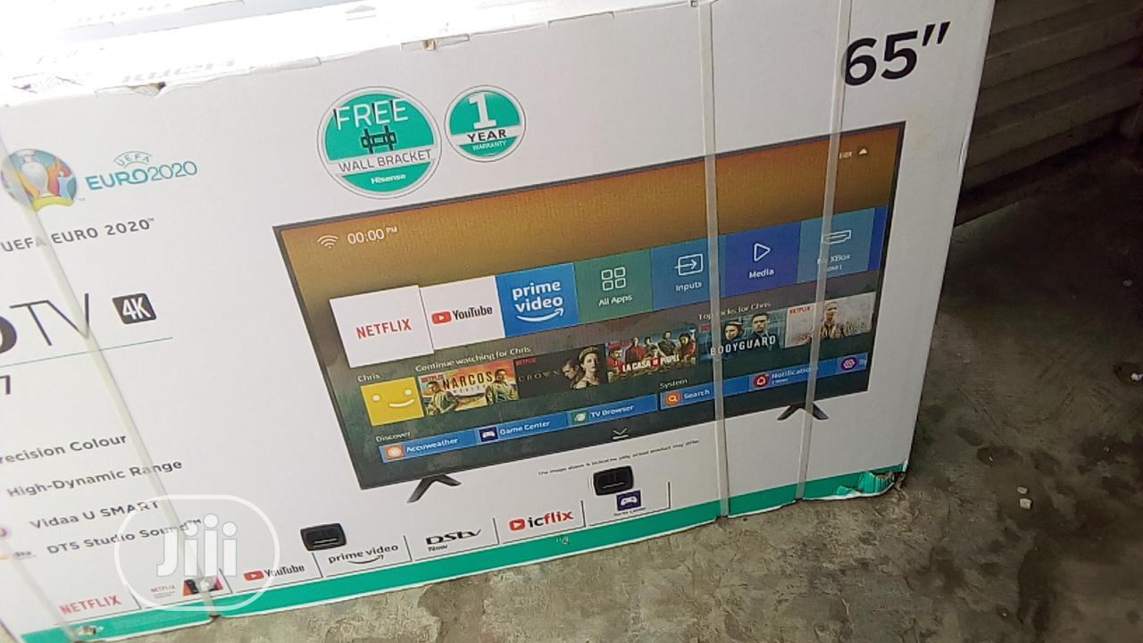 """Hisense LED 4k Smart Tv 65""""   TV & DVD Equipment for sale in Ikeja, Lagos State, Nigeria"""