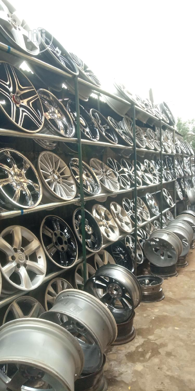 Home of Alloyed Wheels   Vehicle Parts & Accessories for sale in Mushin, Lagos State, Nigeria