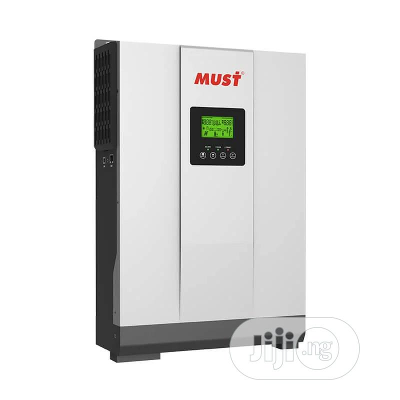Must 5kw Hybrid Inverter With Inbuilt Charge Controller's | Electrical Equipment for sale in Aba South, Abia State, Nigeria