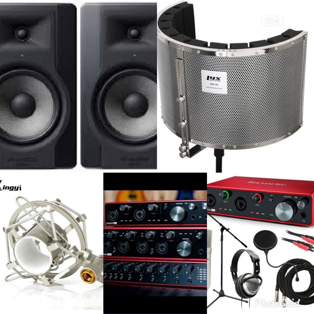 Music Studio Bundle Equipment
