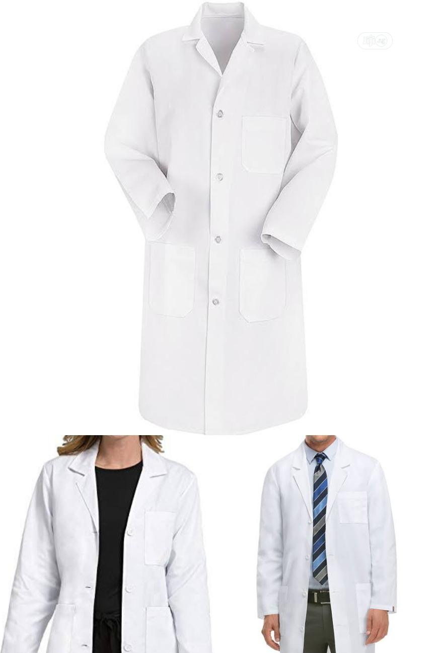 Laboratory Foreign Made Coat for Multiple Purposes.