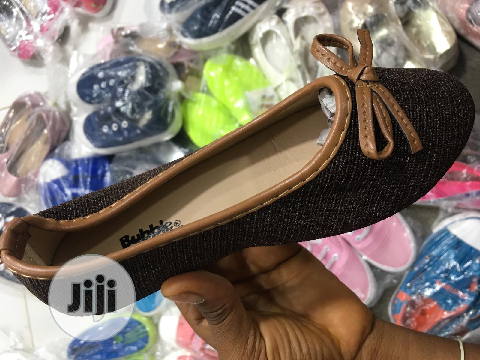 Archive: Brown Flat Sole Shoe