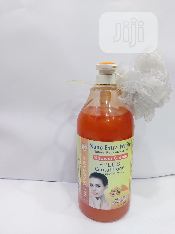 Nano Extra White Natural Papaya Carrot Soap