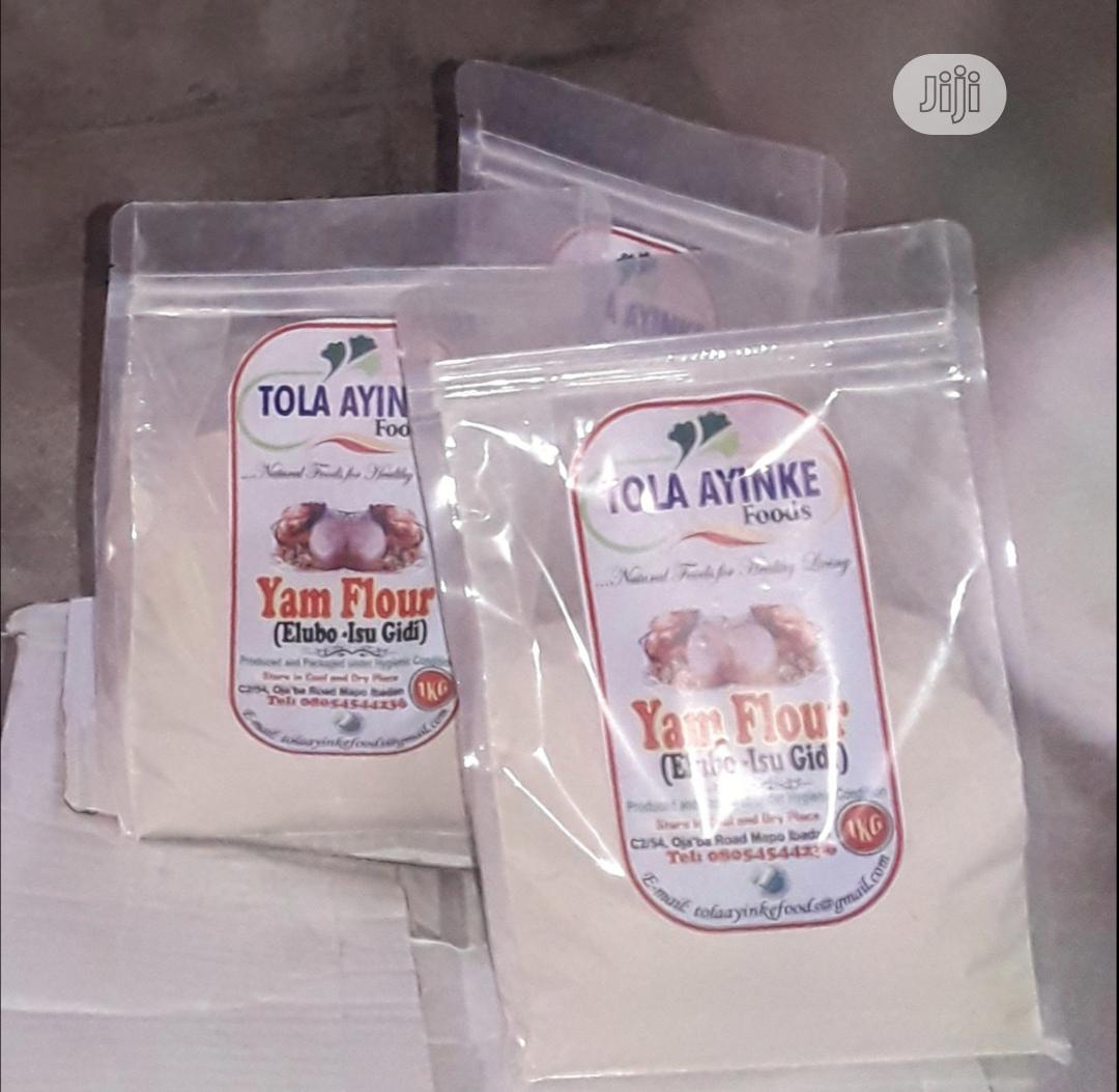 Elubo Isu Yam Flour (1kg) (Free Delivery Within Ibadan)