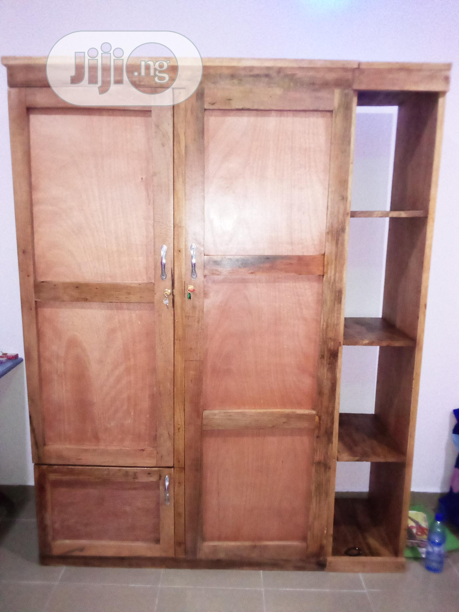 Archive: 7 Feet Wardrobe With Side Shoe Rack(Can Be Resprayed)