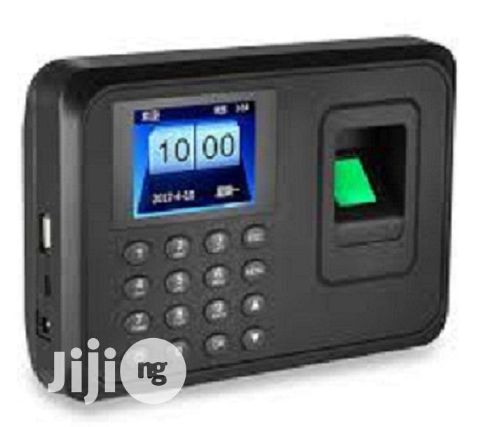 Archive: Biometric Fingerprint Time Attendance Machine [A6]