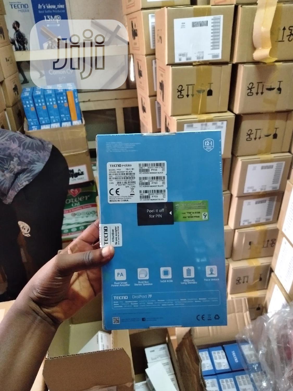 New Tecno DroiPad 7D 16 GB Black | Tablets for sale in Ikeja, Lagos State, Nigeria