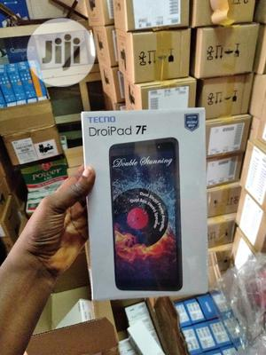 New Tecno DroiPad 7D 16 GB Black | Tablets for sale in Lagos State, Ikeja