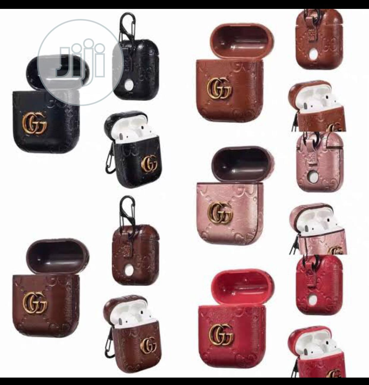 Airpods 2 Leather Gucci Louis Vuitton Designers Case In Ikeja