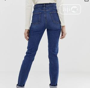 ASOS UK Blue Long Jeans - Size 25   Clothing for sale in Lagos State, Lekki