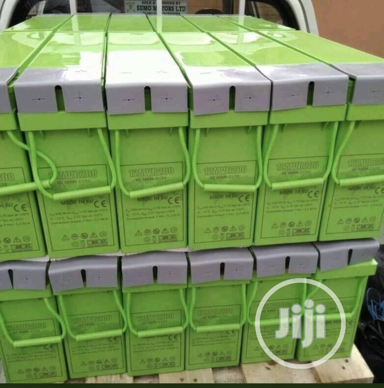 12v 200ah Monbat Sleek Solar Battery