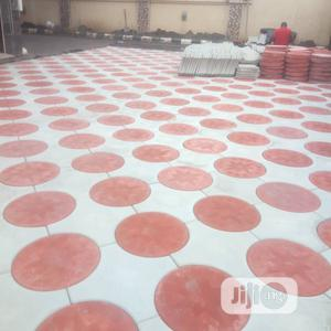 Stamp Concrete and Interlocking Stones | Building & Trades Services for sale in Lagos State, Lekki