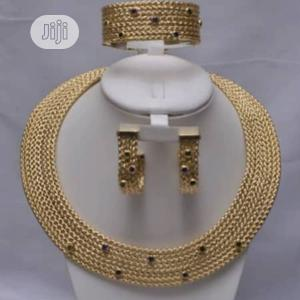 Italian Gold Plated Big Set | Jewelry for sale in Lagos State, Gbagada