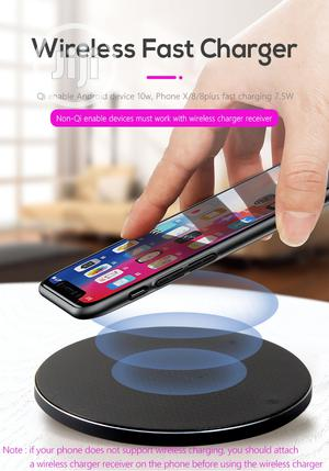 Wireless Fast Charger | Accessories for Mobile Phones & Tablets for sale in Lagos State, Ikorodu